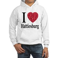 I Love Hattiesburg Hoodie