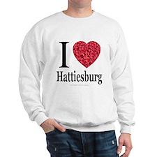 I Love Hattiesburg Sweatshirt