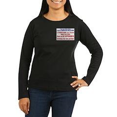 No VOTE #2 T-Shirt