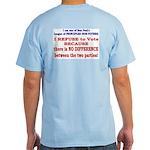 No VOTE #2 Light T-Shirt