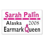 Queen Palin Rectangle Sticker