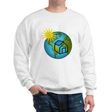 Solar Power Earth Sweatshirt