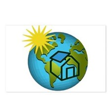 Solar Power Earth Postcards (Package of 8)