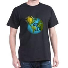Solar Power Earth T-Shirt