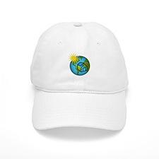 Solar Power Earth Baseball Cap