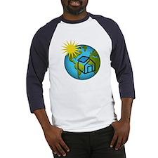 Solar Power Earth Baseball Jersey