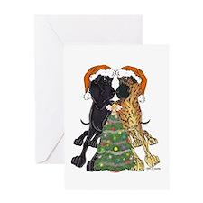 NN Xmas Tree3 Greeting Card