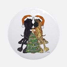 NN Xmas Tree3 Ornament (Round)