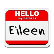Hello my name is Eileen Mousepad