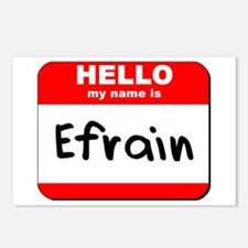Hello my name is Efrain Postcards (Package of 8)