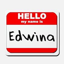 Hello my name is Edwina Mousepad