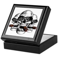 Cool Skulls Keepsake Box