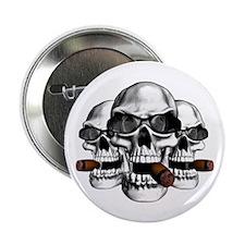 """Cool Skulls 2.25"""" Button"""