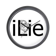 iLie Wall Clock