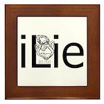 iLie Framed Tile