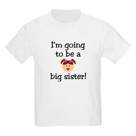 I'm going to be a big sister! Kids T-Shirt