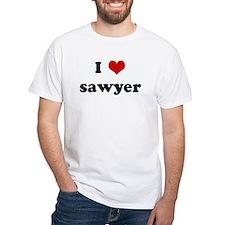I Love sawyer Shirt