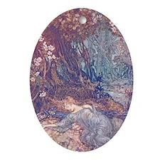 Titania Sleeps Keepsake (Oval)