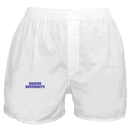 Roofer University Boxer Shorts