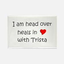 Cute Trista Rectangle Magnet