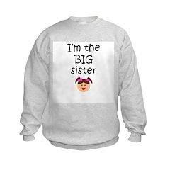 I'm the big sister 1 Sweatshirt