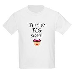 I'm the big sister 1 Kids T-Shirt