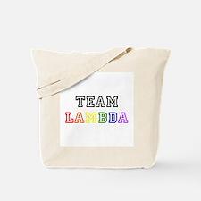 Team Lambda Tote Bag