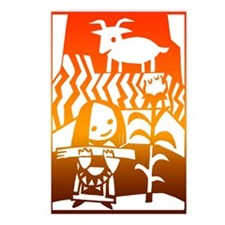 Girl & Goat Postcards (Package of 8)