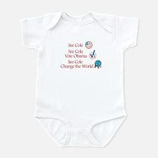 See Cole Vote Obama Infant Bodysuit