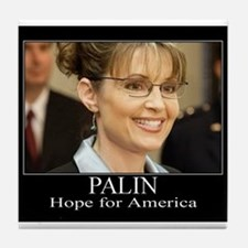 Hope for America Tile Coaster