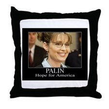 Hope for America Throw Pillow