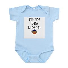 I'm the big brother 3 Infant Creeper