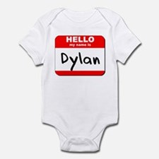Hello my name is Dylan Infant Bodysuit