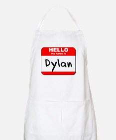 Hello my name is Dylan BBQ Apron