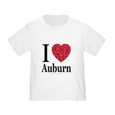 I Love Auburn T