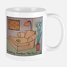 Reading Soothes the Soul Mug