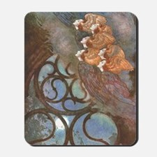 Poe's The Bells, Angels Mousepad