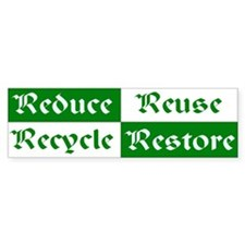 Recycle Bumper Bumper Sticker