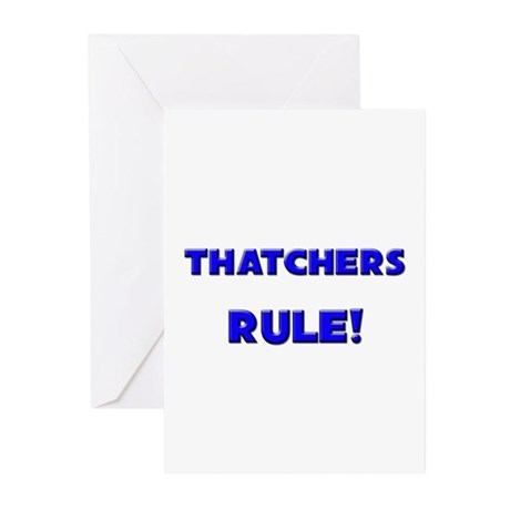 Thatchers Rule! Greeting Cards (Pk of 10)