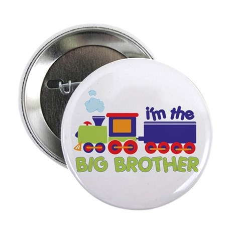 "train big brother t-shirts 2.25"" Button"