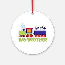 train big brother t-shirts Ornament (Round)