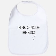 Think outside the box. Bib