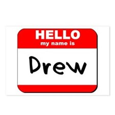 Hello my name is Drew Postcards (Package of 8)