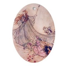 Fairies Away! Keepsake (Oval)
