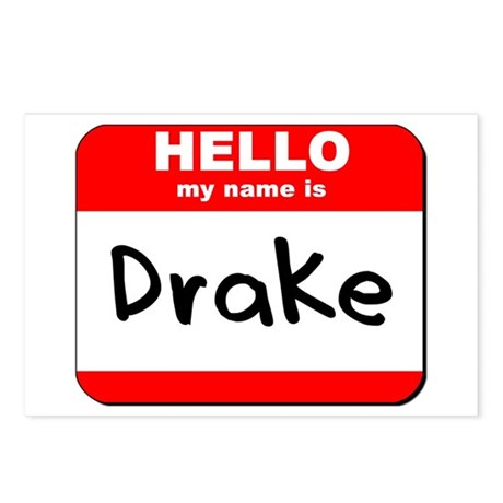 Hello my name is Drake Postcards (Package of 8)