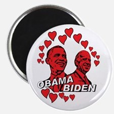 Obama Biden - Feel the love Magnet