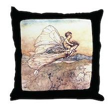 Her Fairy Sent Throw Pillow