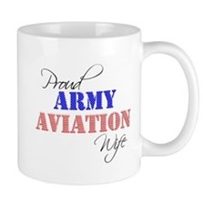 Proud Army Aviation Wife Mug