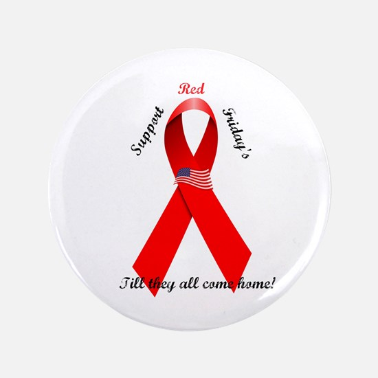 """Red Friday 3.5"""" Button (100 pack)"""