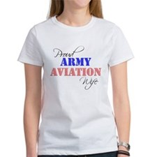 Proud Army Aviation Wife Tee